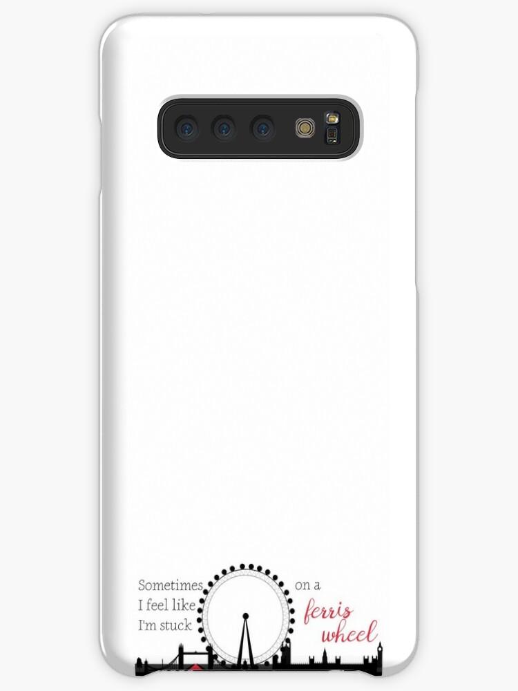 sports shoes 0f19b a2b42 'Love Simon - Ferris Wheel Quote' Case/Skin for Samsung Galaxy by elestilo