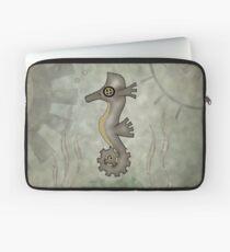 Sir Angustus Finn - Nautical Steampunk Seahorse Laptop Sleeve