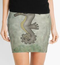 Sir Angustus Finn - Nautical Steampunk Seahorse Mini Skirt