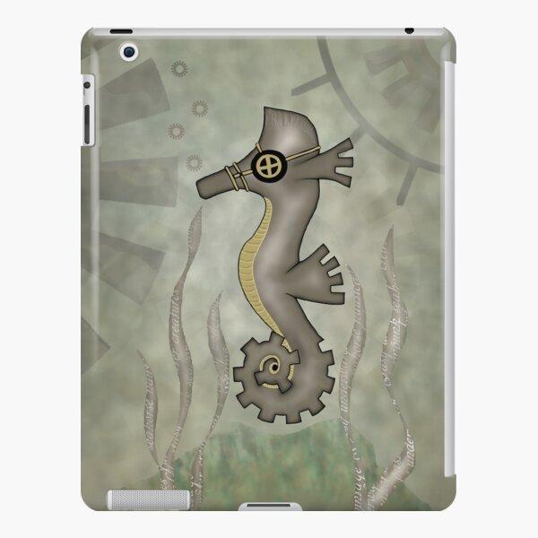 Sir Angustus Finn - Nautical Steampunk Seahorse iPad Snap Case