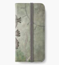 Sir Angustus Finn - Nautical Steampunk Seahorse iPhone Wallet/Case/Skin