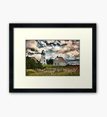Panmure Island Lighthouse, PEI Framed Print