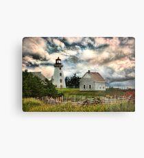 Panmure Island Lighthouse, PEI Metal Print
