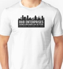 The Wire - B&B Enterprises - Black Unisex T-Shirt