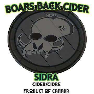Boars Back Cider - Sidra by toonpunk