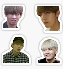Pegatina The Ultimate Old school Army BTS V Colección Taehyung Meme