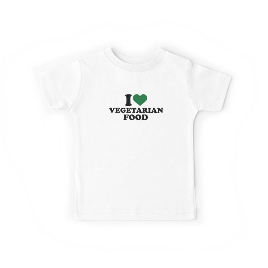 I love vegetarian food by Designzz