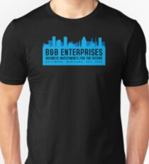 The Wire - B&B Enterprises - Blue T-Shirt