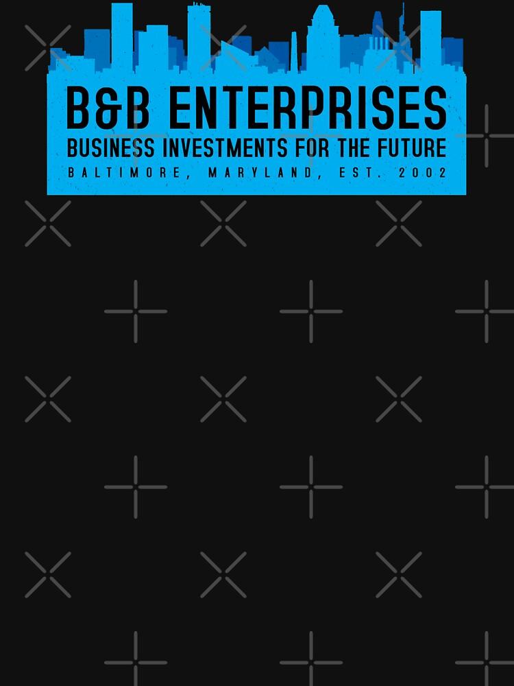 The Wire - B&B Enterprises - Blue by garudoh