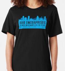 The Wire - B&B Enterprises - Blue Slim Fit T-Shirt
