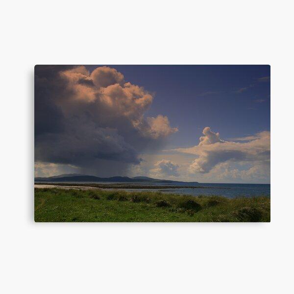 Clouds Over  Barra Canvas Print