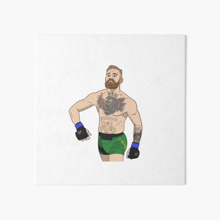 Conor McGregor | UFC Art Board Print