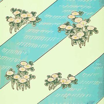 Japanese Bijutsukai River Pattern ♥ by Go-Postal