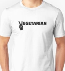 Vegetarian peace Unisex T-Shirt