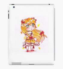 Chibi citrus lady cute girl iPad Case/Skin