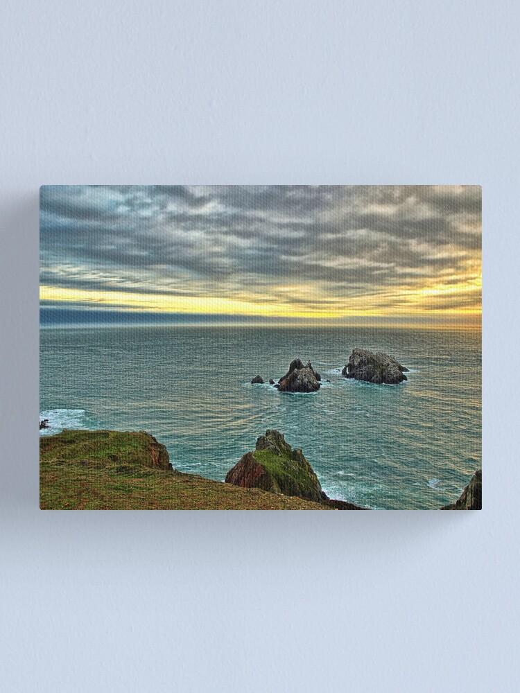 Alternate view of Le Estac - Alderney Canvas Print