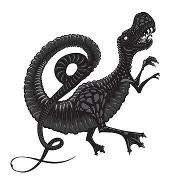 Tyrannosaur Rex by Kazanskiy