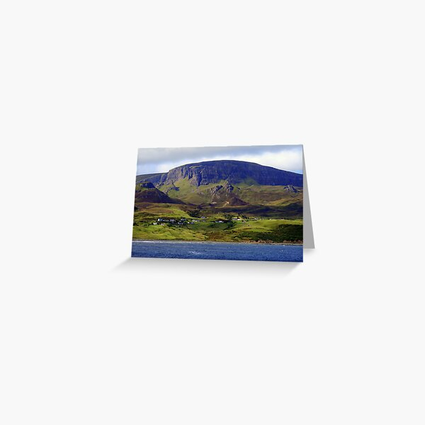 Staffin Greeting Card