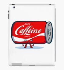 Need Caffeine Cute iPad Case/Skin