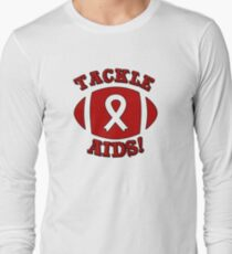 Support AIDS Awareness Design Long Sleeve T-Shirt