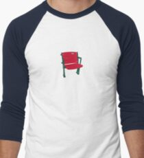 The Lone Red Seat - Red Sox - Fenway Park Men's Baseball ¾ T-Shirt