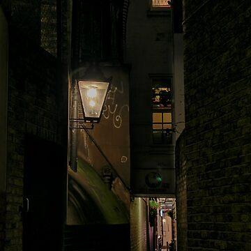 Dark Alley London by Jasna
