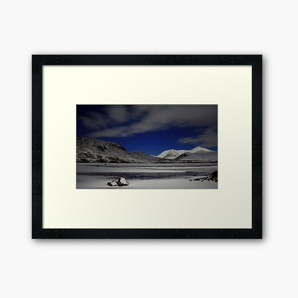 Venus and Blackmount Framed Art Print