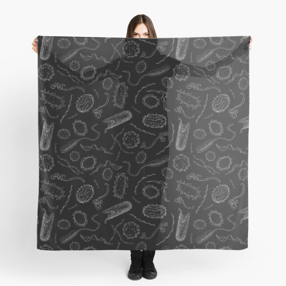 Deadly Diseases Scarf