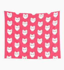 Funny Kitty Cats quote - If you can read this my cat fell off Wall Tapestry