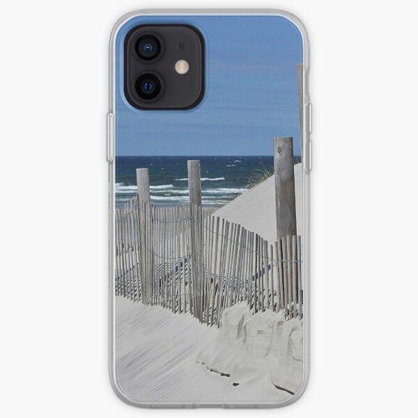 Beach scene iPhone Soft Case