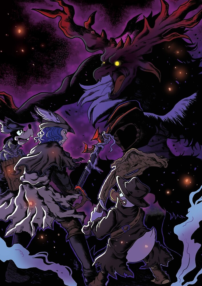 crossover kingdom hearts and bloodborne hunter s diary by