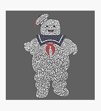 """The Stay Puft Marshmallow Man in """"Ghostbusters"""" the Movie Photographic Print"""