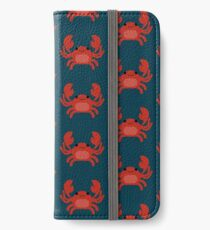 Cute Red Crab iPhone Wallet/Case/Skin