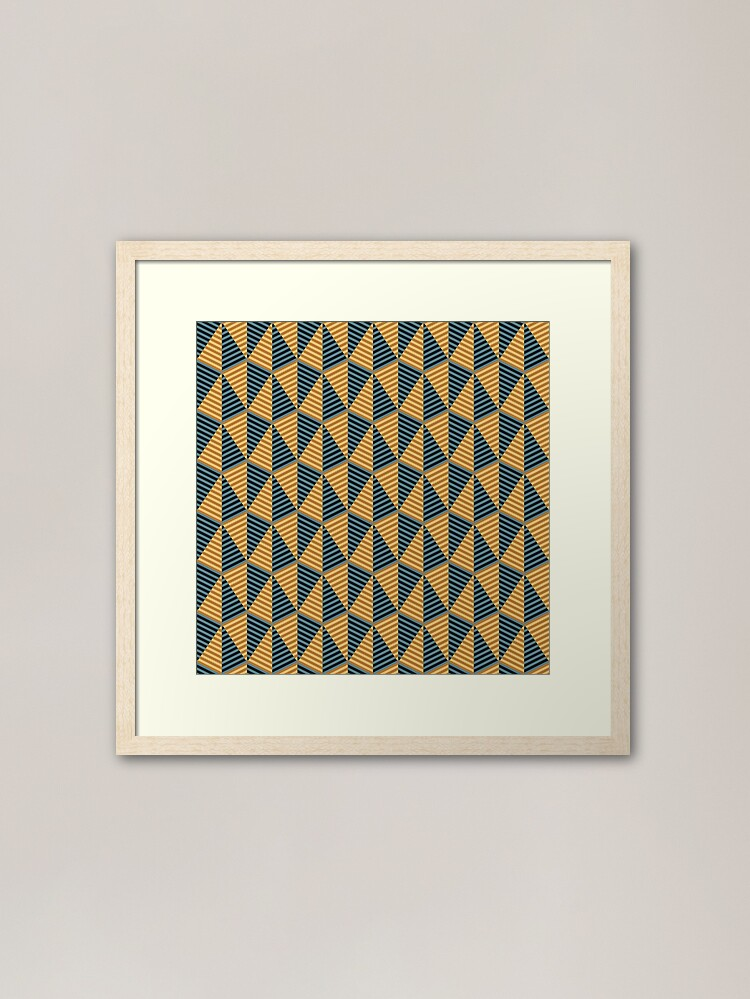 Alternate view of Egypt day and night - mysterious pyramids Framed Art Print