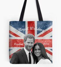 Prince Harry and Meghan Markle Tote Bag
