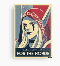 Sylvanas - For the Horde Metal Print