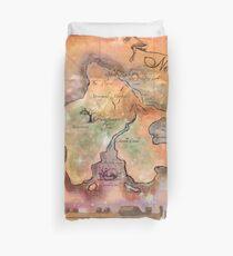 Neverland Karte Bettbezug