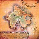 Neverland Map  by Sophersgreen