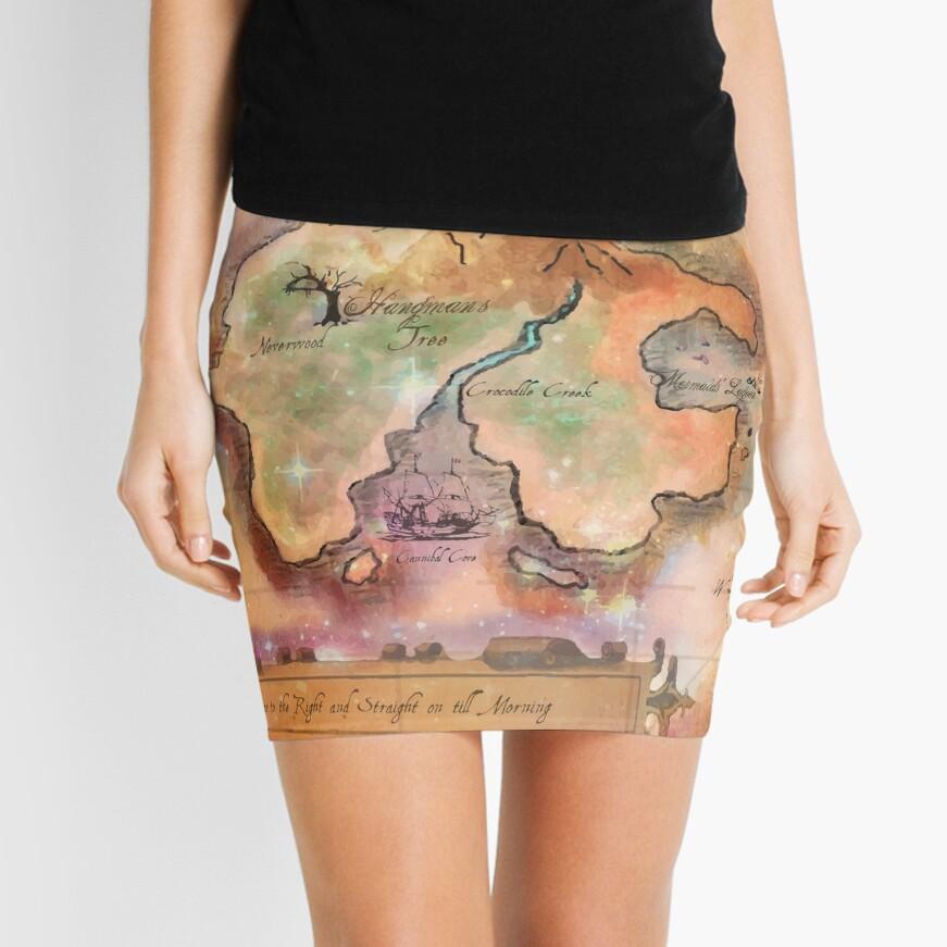 Neverland Karte Minirock