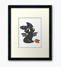 Little Dragon Framed Print