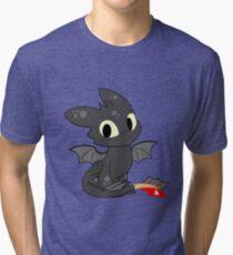 Little Dragon Tri-blend T-Shirt