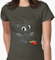 Little Dragon Womens Fitted T-Shirt