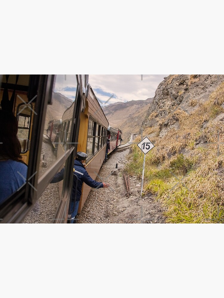 Devil's Nose train ride with conductor, Ecuador by kpander