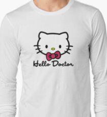 Hello Doctor Long Sleeve T-Shirt