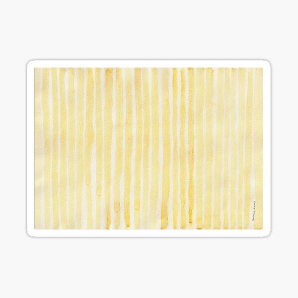 SAFFRON'S STRIPE Sticker