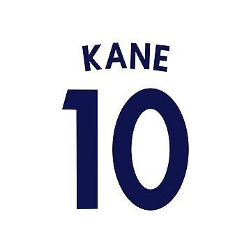 Harry Kane Tottenham FC/ England Shirt Illustration  by DanDobsonDesign