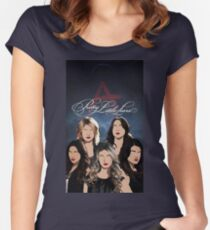 Camiseta entallada de cuello redondo Pretty Little Liars Fan Art
