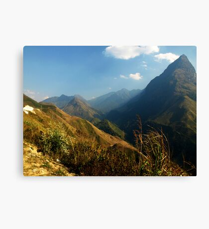 Tam Duong area of North West Vietnam Canvas Print