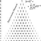Pascal's Triangle,  треугольник паскаля, #PascalsTriangle,  #треугольникпаскаля, #PascalTriangle,  #треугольник, #паскаля, #Pascal, #Pascals, #Triangle, #Math, #Mathematics by znamenski