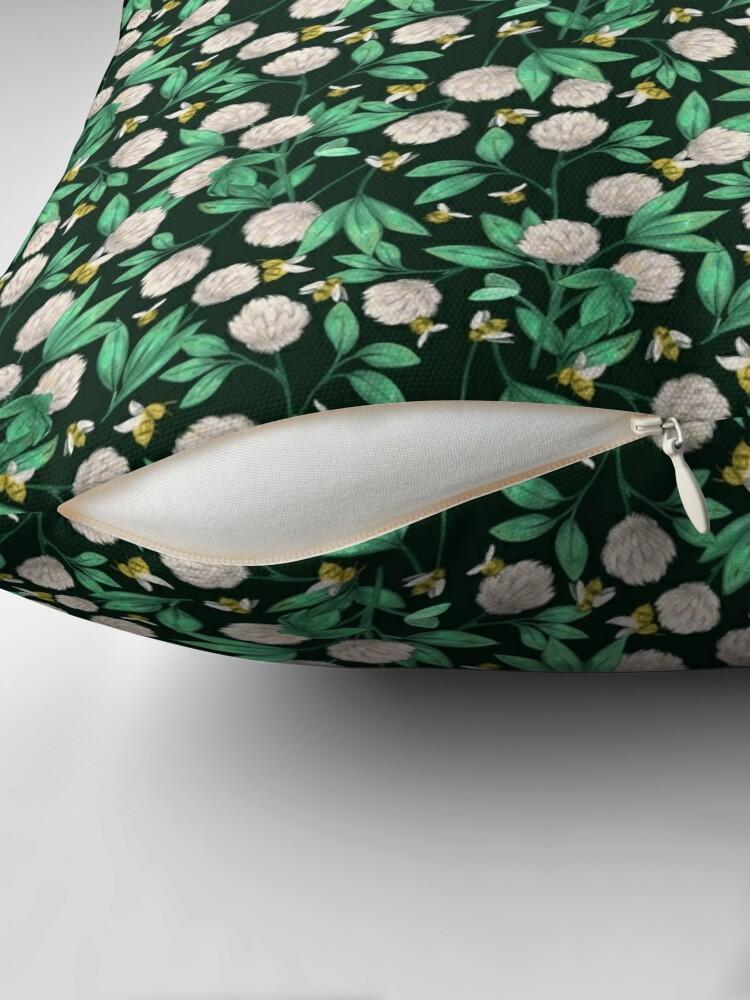 Alternate view of Clover Throw Pillow